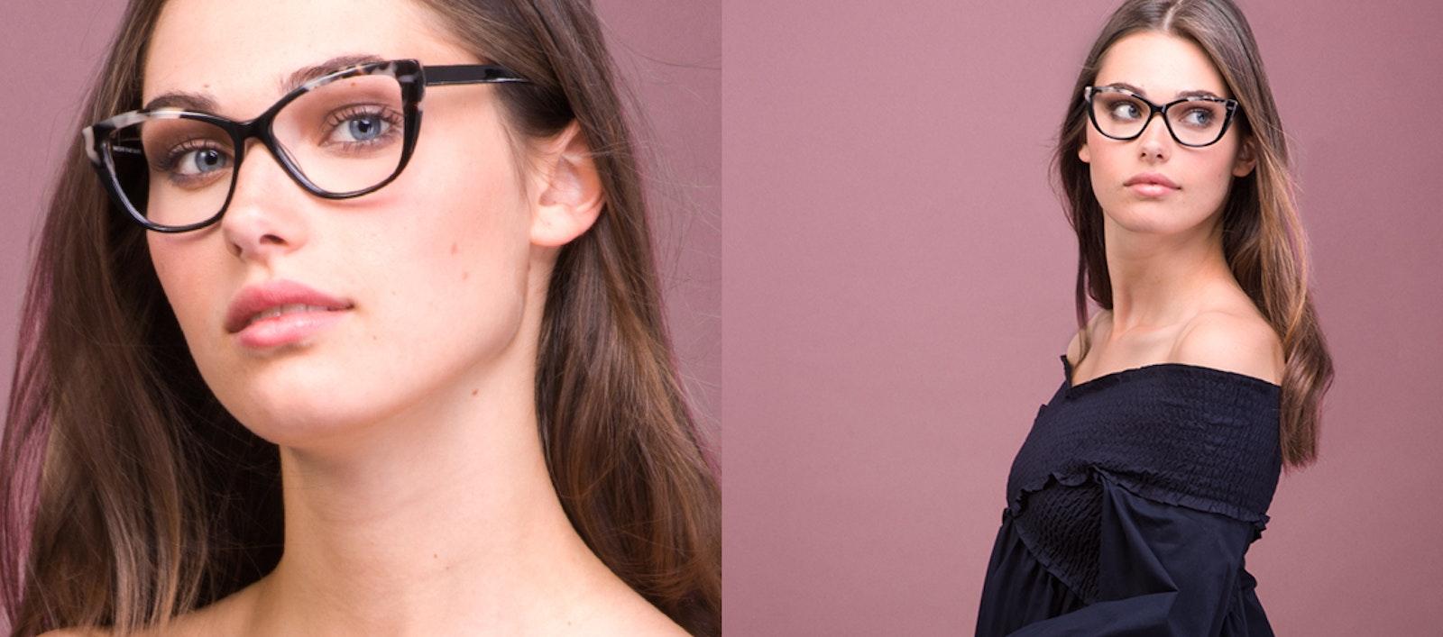 92a4ccbe89a6 Affordable Fashion Glasses Cat Eye Daring Cateye Eyeglasses Women Dolled Up Ebony  Granite
