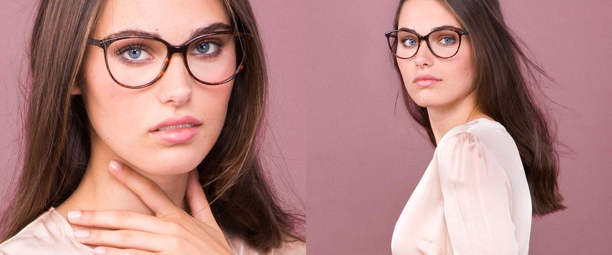 Affordable Fashion Glasses Round Eyeglasses Women Imagine Sepia Kiss