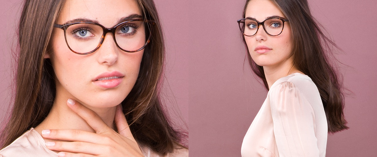 Affordable Fashion Glasses Cat Eye Round Eyeglasses Women Imagine Sepia Kiss
