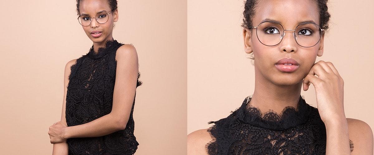 Affordable Fashion Glasses Round Eyeglasses Women Joy Black Copper