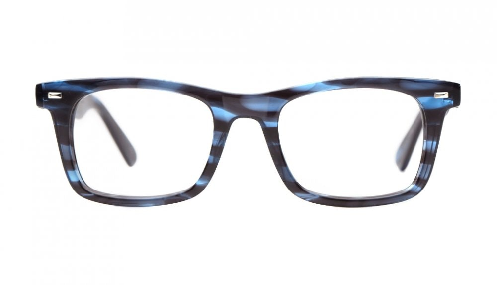 Affordable Fashion Glasses Square Eyeglasses Men Urban Dandy Blue Front
