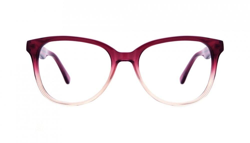 Affordable Fashion Glasses Round Eyeglasses Women Fancy-Pants Strawberry Daquiri Front
