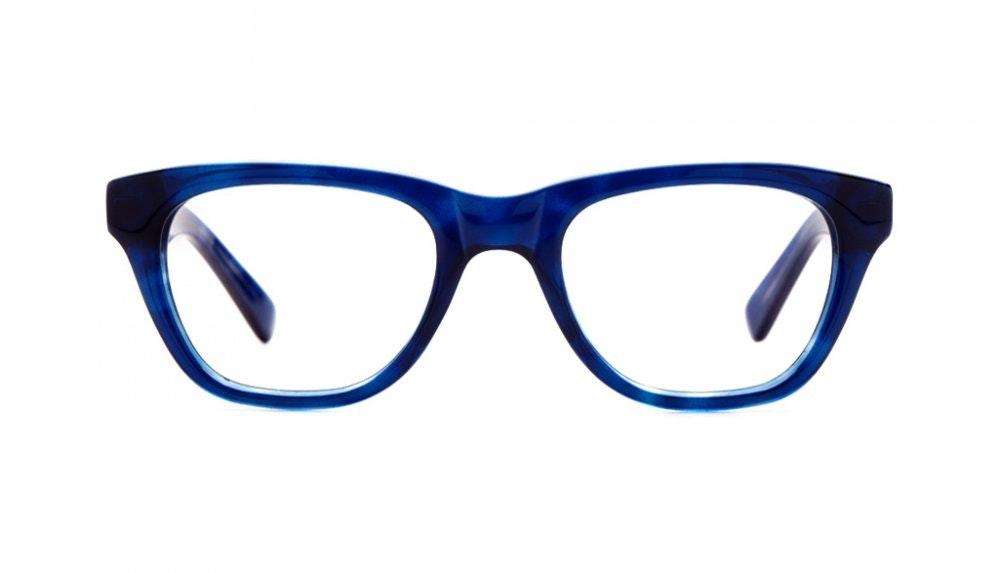 Affordable Fashion Glasses Square Eyeglasses Women Daydreamer Midnight Sky Front