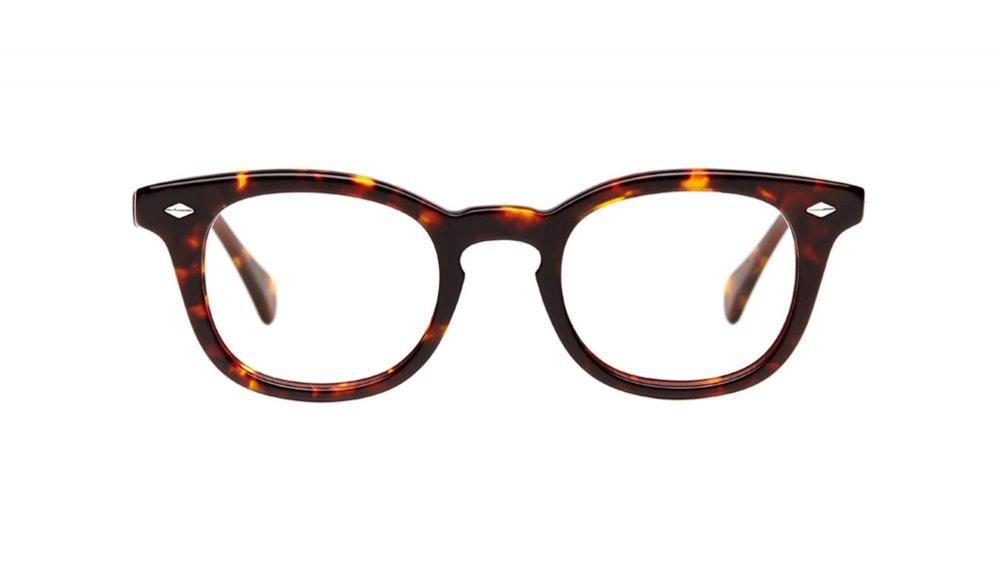 Affordable Fashion Glasses Round Eyeglasses Men Women Rialto Sepia Kiss Front
