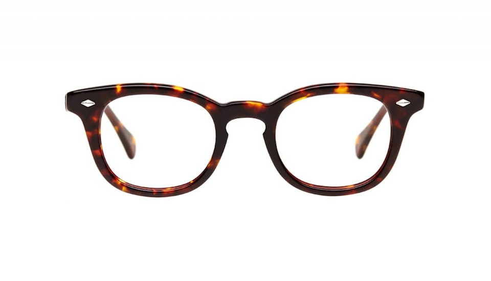 Affordable Fashion Glasses Round Eyeglasses Men Women Rialto Sepia Kiss Front