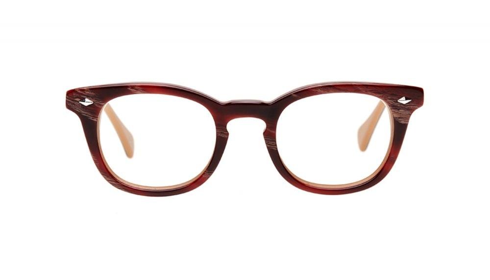 Affordable Fashion Glasses Round Eyeglasses Men Women Rialto Agate Front