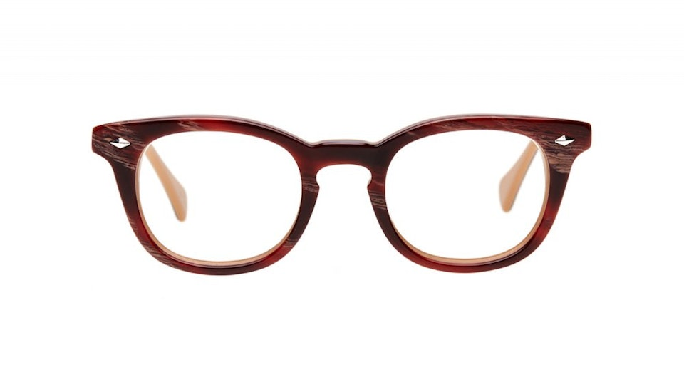 Affordable Fashion Glasses Round Eyeglasses Men Women Rialto Agate Front