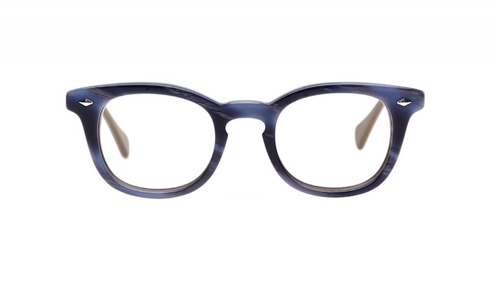 Affordable Fashion Glasses Round Eyeglasses Men Women Rialto Lazuli Front