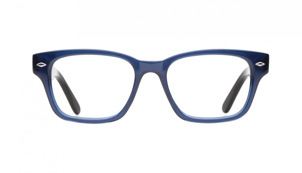 Affordable Fashion Glasses Square Eyeglasses Women Marlowe Midnight Blue Front