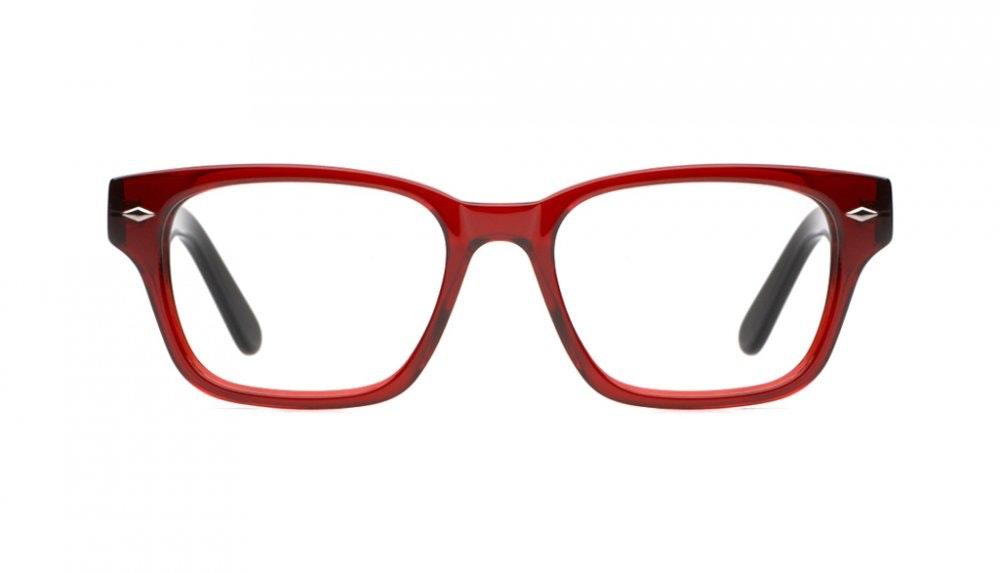 Affordable Fashion Glasses Square Eyeglasses Women Marlowe Crimson Front