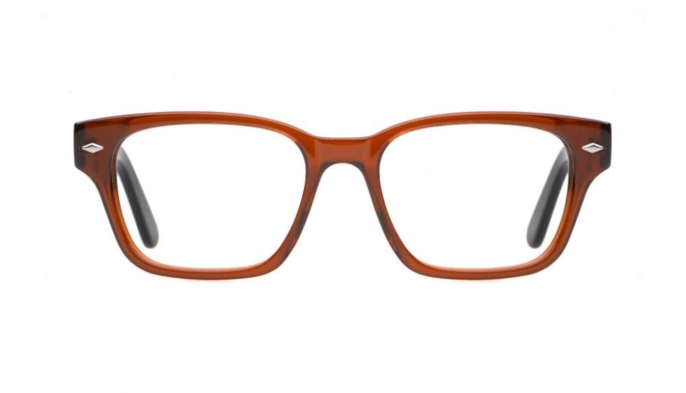 Affordable Fashion Glasses Square Eyeglasses Women Marlowe Dark Chocolate Front