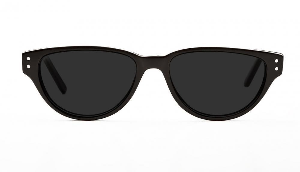 Affordable Fashion Glasses Cat Eye Eyeglasses Women Coquine Black Front
