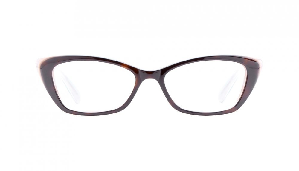 Affordable Fashion Glasses Cat Eye Eyeglasses Women Betty Vanilla Latte Front