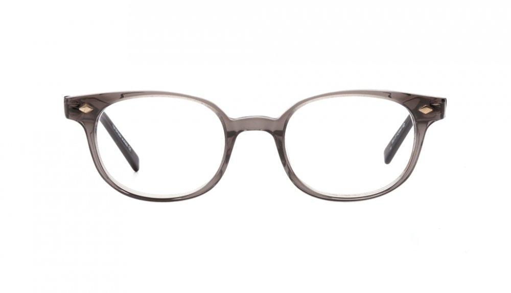 Affordable Fashion Glasses Round Eyeglasses Women Flanagan Grey Front