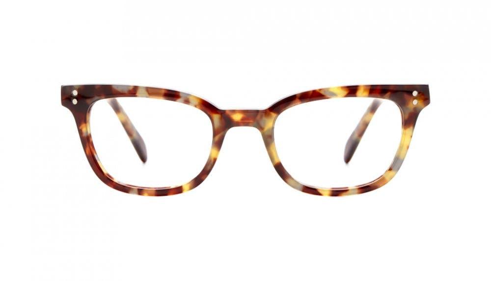 Affordable Fashion Glasses Rectangle Eyeglasses Women Fashionably Late Dressy Tortoise Front