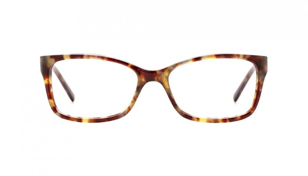 Affordable Fashion Glasses Rectangle Eyeglasses Women Dancer Dressy Tortoise Front