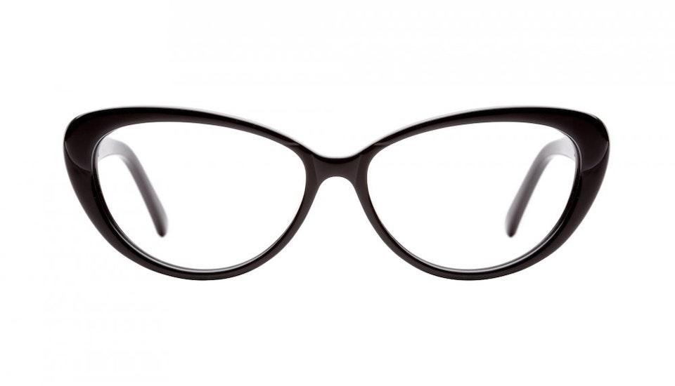 Affordable Fashion Glasses Cat Eye Eyeglasses Women Glamazon Black Front