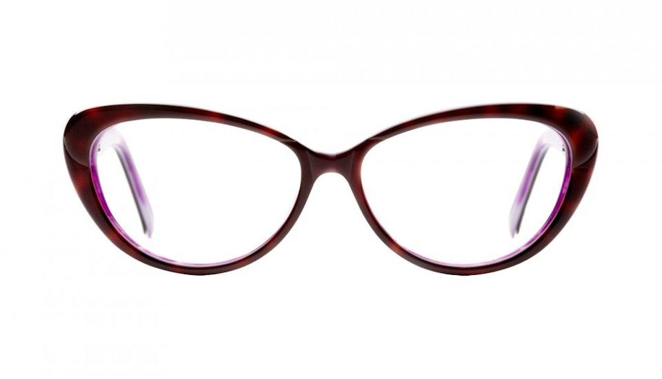 Affordable Fashion Glasses Cat Eye Eyeglasses Women Glamazon Daring Tortoise Front