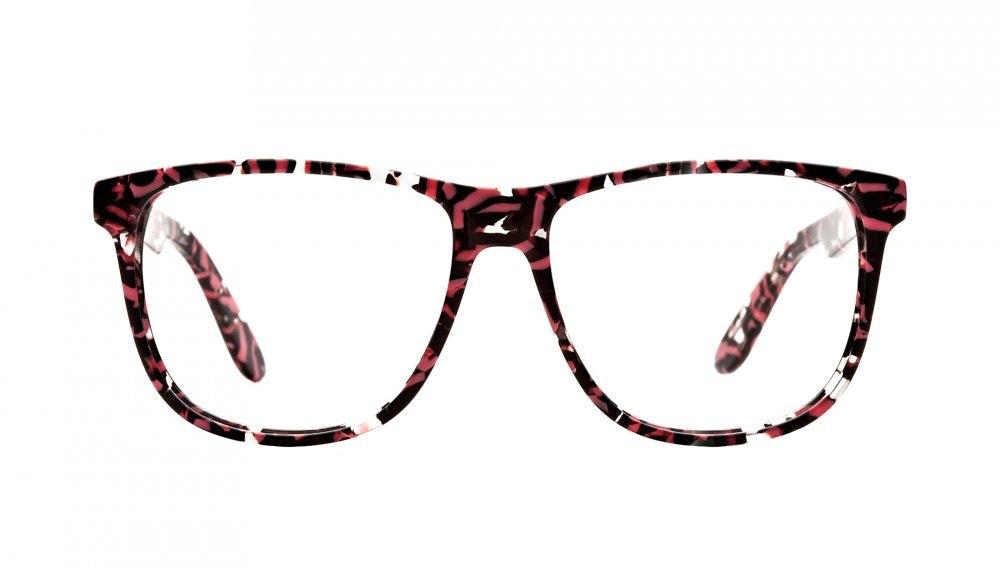Affordable Fashion Glasses Square Eyeglasses Men Women Free Spirit Surprise Coral Front