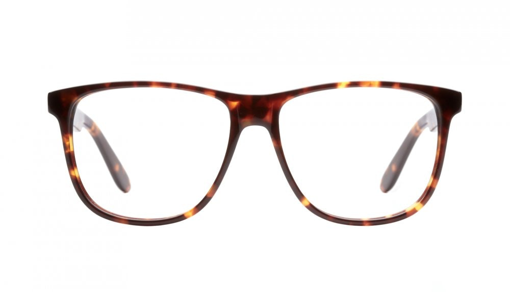 Affordable Fashion Glasses Square Eyeglasses Men Women Free Spirit Sepia Kiss Front