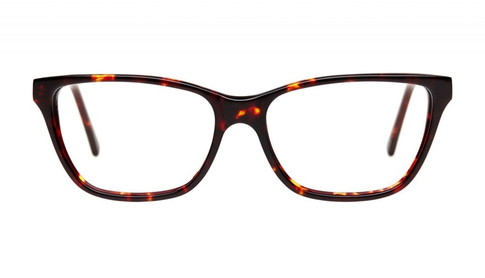Affordable Fashion Glasses Cat Eye Eyeglasses Women Honeybadger Chocolate Tortoise Front