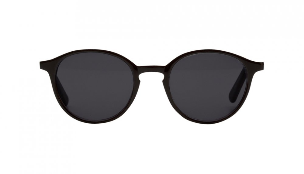 Affordable Fashion Glasses Round Sunglasses Women J'adore black Front