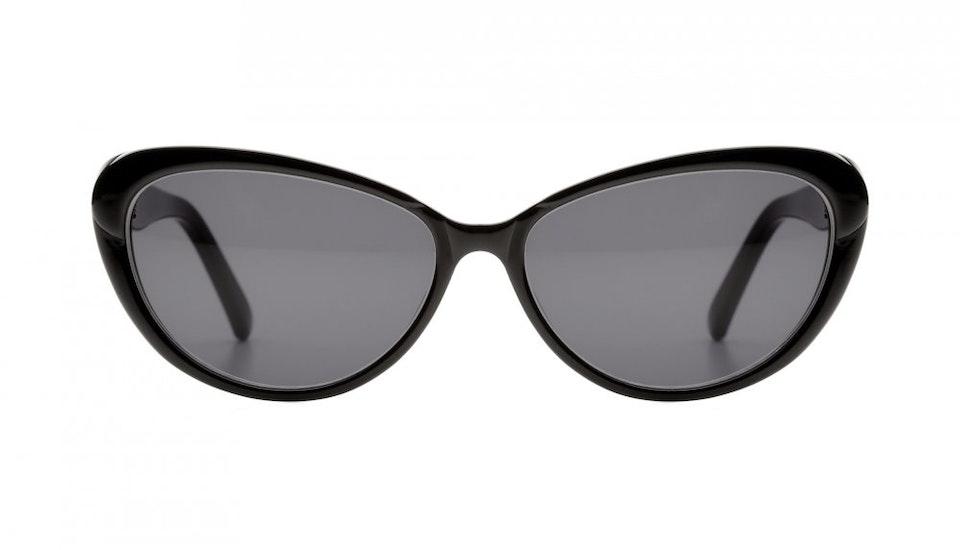Affordable Fashion Glasses Cat Eye Sunglasses Women Glamazon Black Front