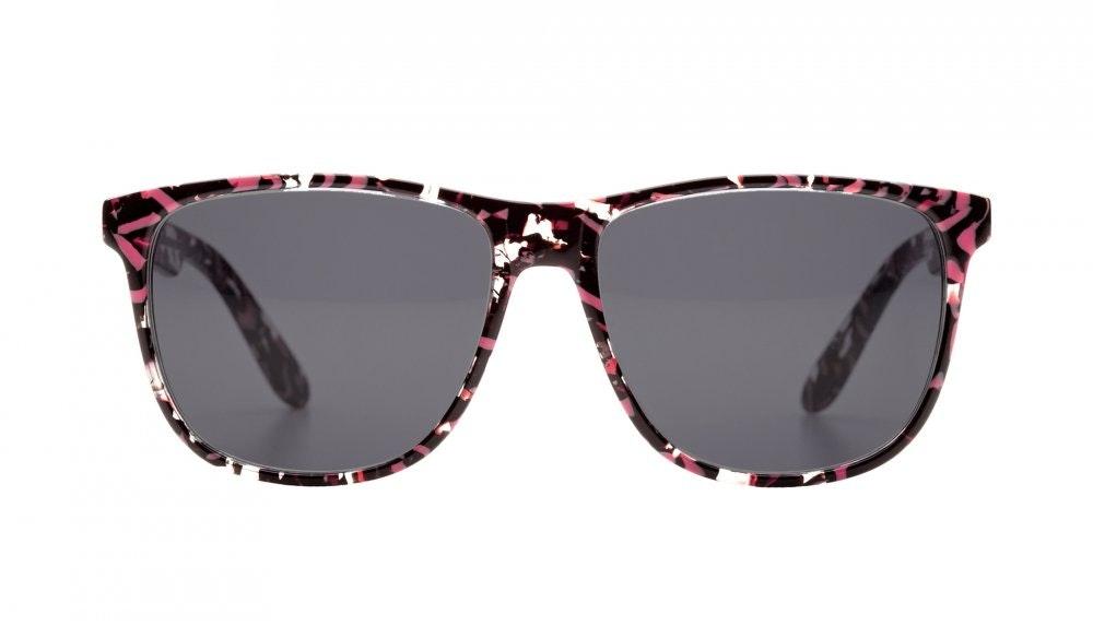 Affordable Fashion Glasses Square Sunglasses Men Women Free Spirit Surprise Coral Front