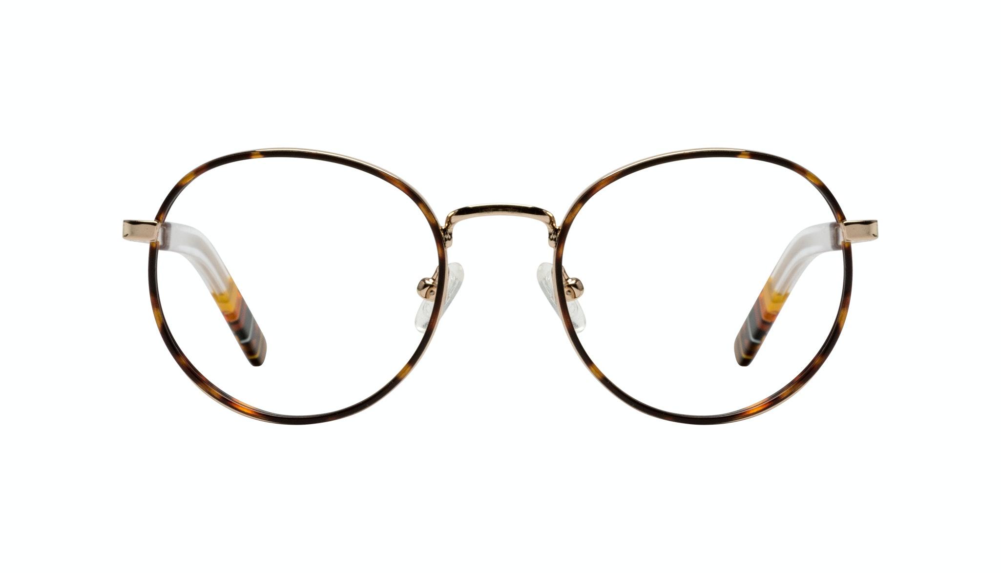 Affordable Fashion Glasses Round Eyeglasses Men Reach Tortoise Front
