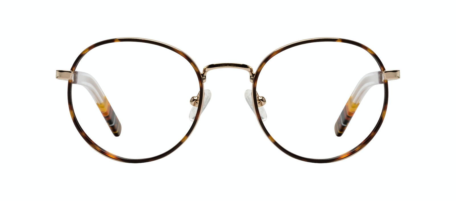 Affordable Fashion Glasses Round Eyeglasses Men Reach Tortoise Front