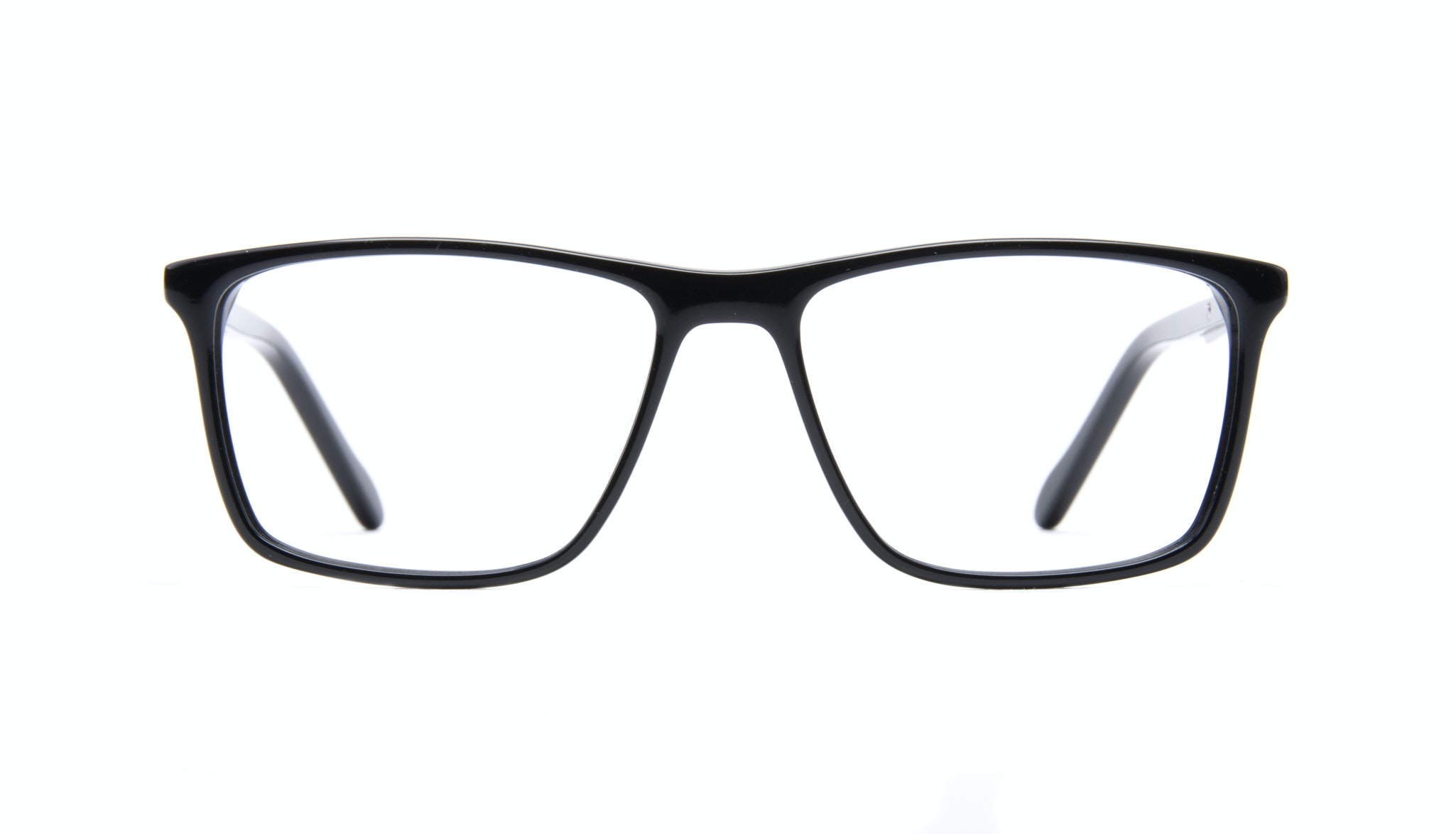 Affordable Fashion Glasses Rectangle Eyeglasses Men Skill Black