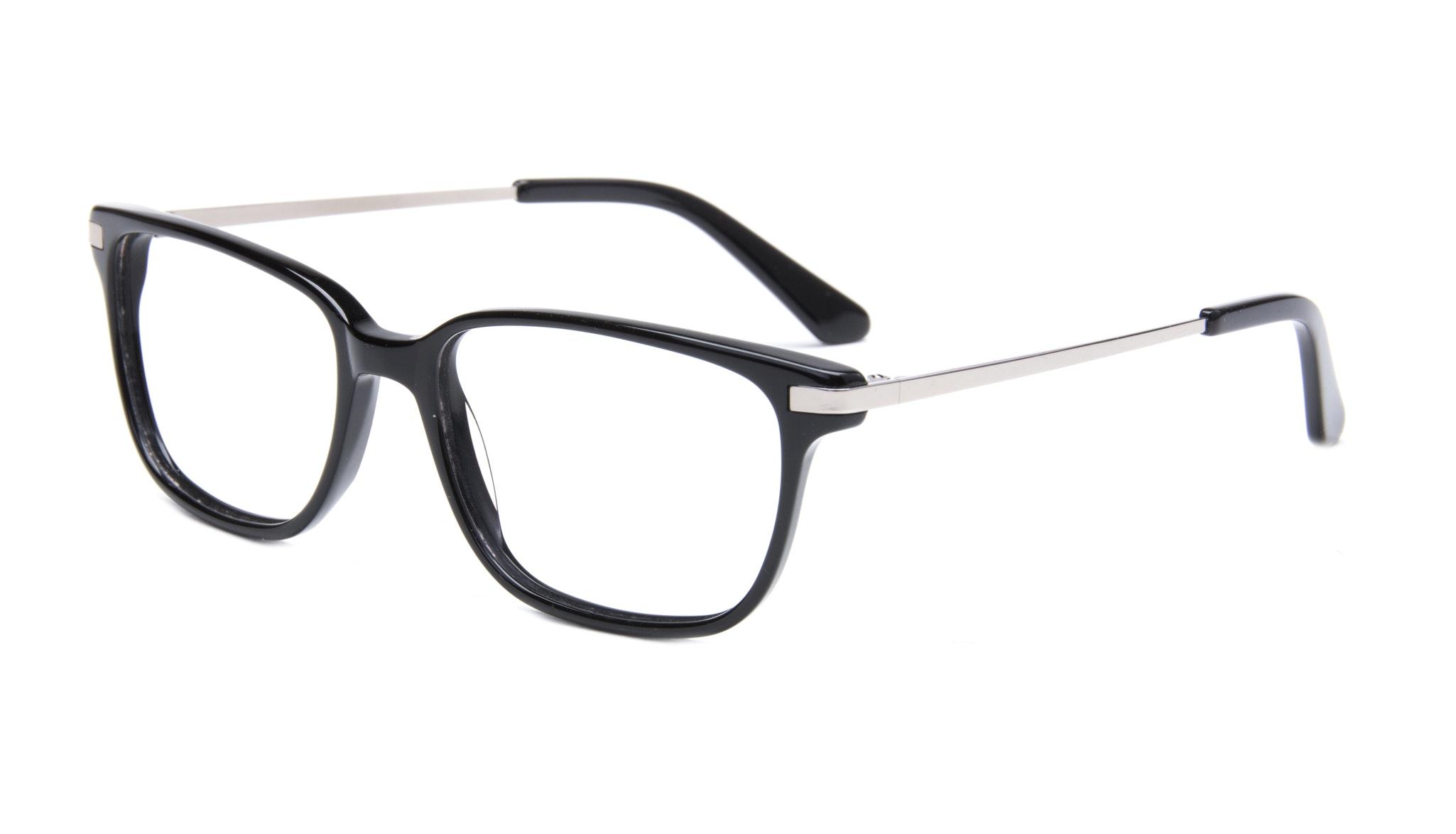 Affordable Fashion Glasses Rectangle Eyeglasses Men Trade Black Tilt