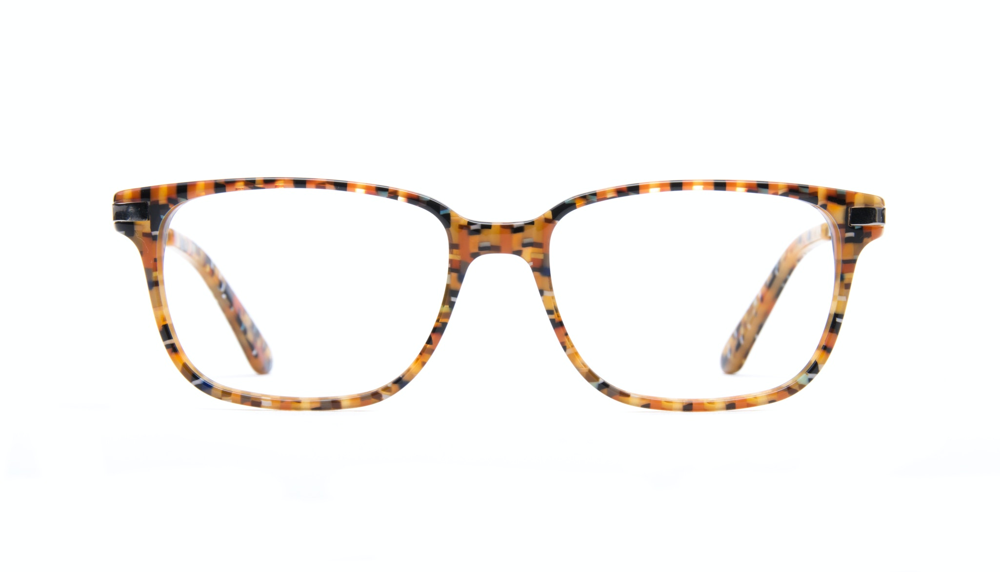 Affordable Fashion Glasses Rectangle Eyeglasses Men Trade Chess
