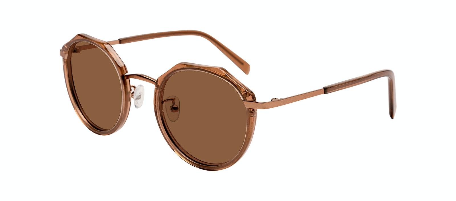 Affordable Fashion Glasses Round Sunglasses Women Womance Jules Tilt