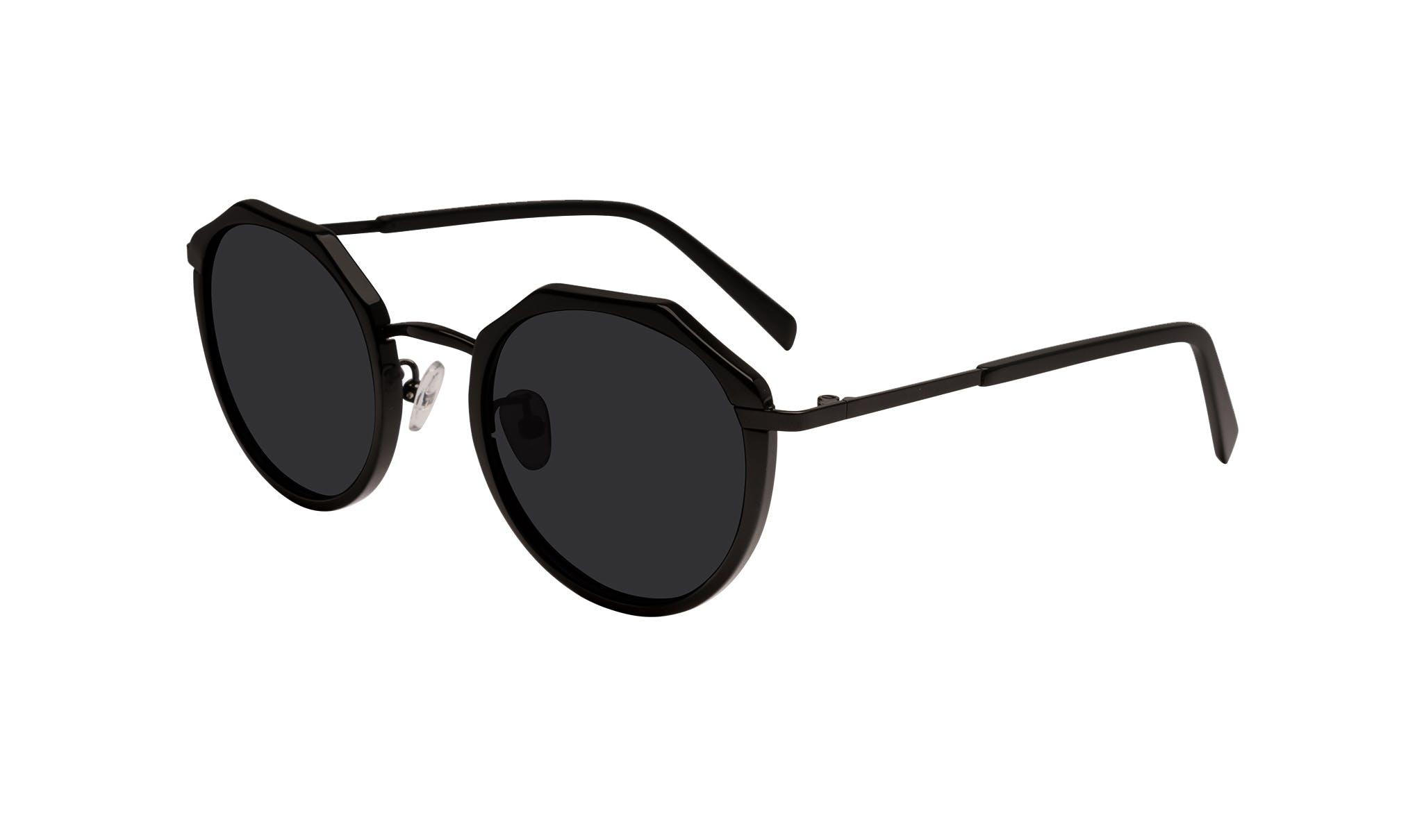 Affordable Fashion Glasses Round Sunglasses Women Womance Matte Tilt